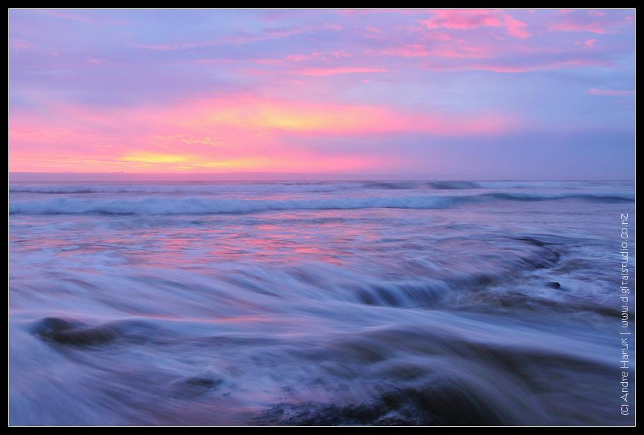Baylys beach sunset